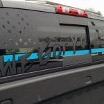 We Got Your Six Thin (Red, Blue or Green) Line – Back Window Decal
