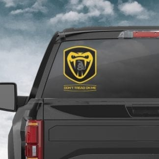 Don't Tread On Me – Patriotic Decal