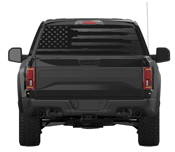 Truck Back Window Decals >> American Flag Back Window Decal Patriot99