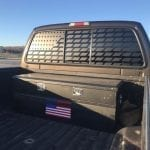 American Flag – ParaTread Truck Back Window Decal